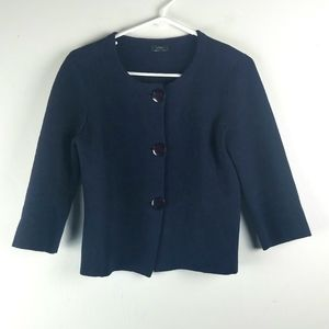 J Crew Womens Cardigan Sweater Size S Kelly Button